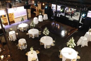 Generations Hall banquet tables